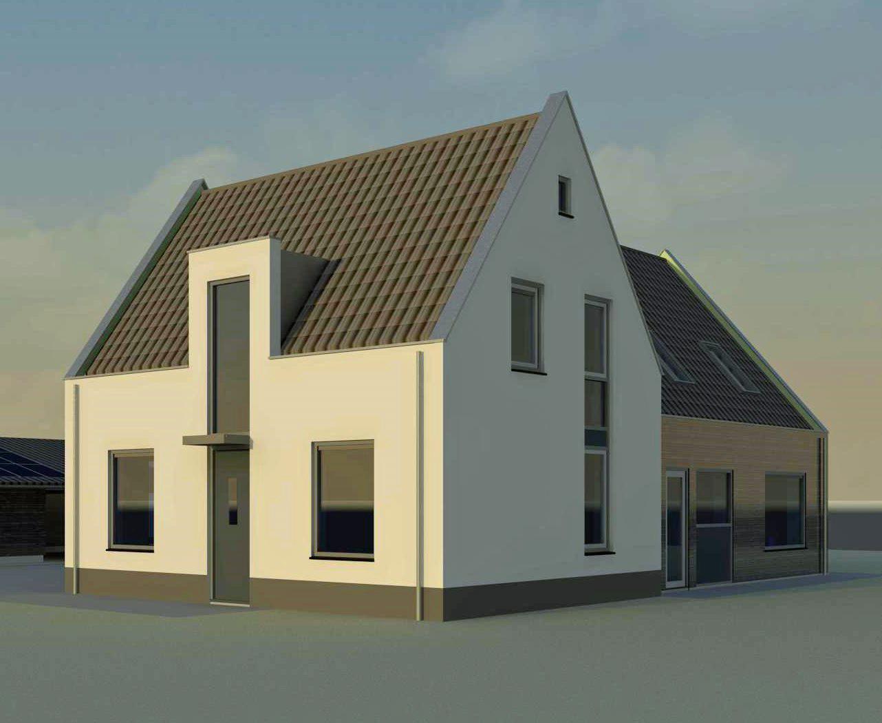 Nieuwbouw woonhuis van Heemstraweg Ewijk